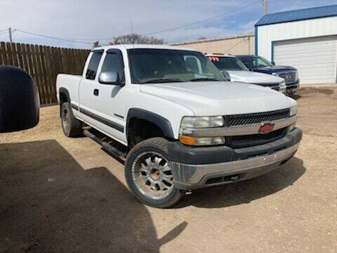 2002 Chevrolet Silverado 2500HD for sale at All Affordable Autos in Oakley KS