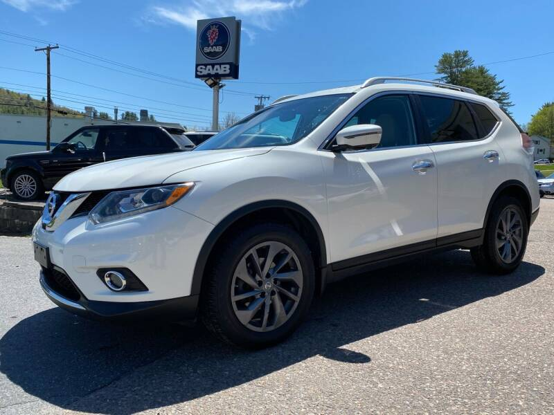 2016 Nissan Rogue for sale at Green Cars Vermont in Montpelier VT