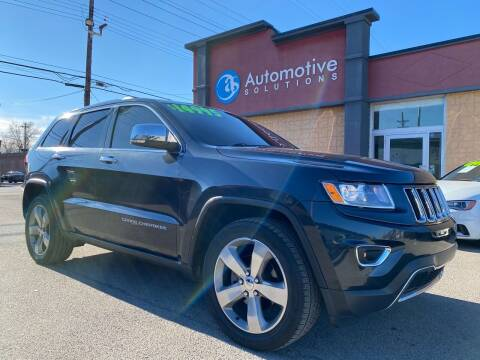 2014 Jeep Grand Cherokee for sale at Automotive Solutions in Louisville KY