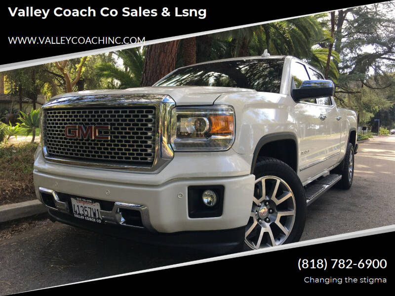 2015 GMC Sierra 1500 for sale at Valley Coach Co Sales & Lsng in Van Nuys CA