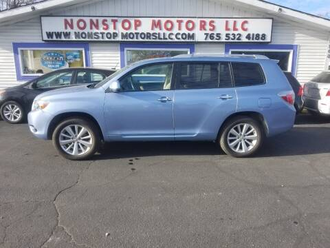 2008 Toyota Highlander Hybrid for sale at Nonstop Motors in Indianapolis IN