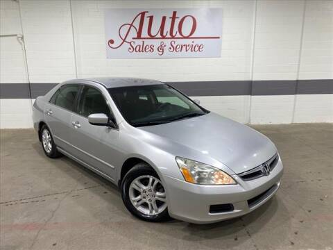 2007 Honda Accord for sale at Auto Sales & Service Wholesale in Indianapolis IN