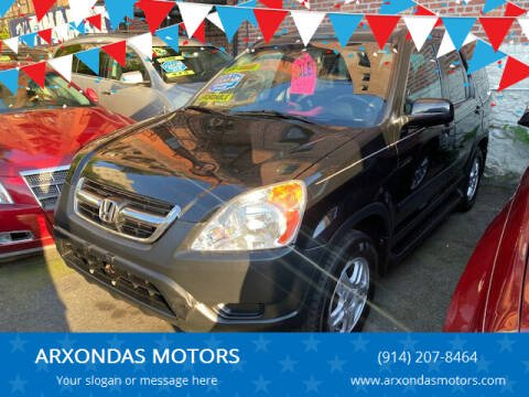 2004 Honda CR-V for sale at ARXONDAS MOTORS in Yonkers NY