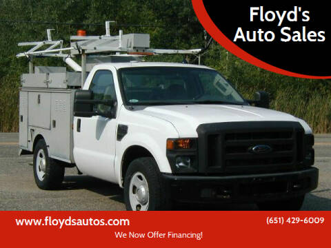 2008 Ford F-350 Super Duty for sale at Floyd's Auto Sales in Stillwater MN