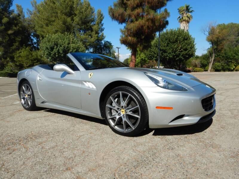2010 Ferrari California for sale at California Cadillac & Collectibles in Los Angeles CA