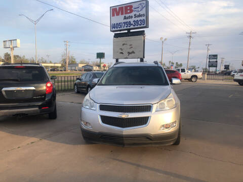 2010 Chevrolet Traverse for sale at MB Auto Sales in Oklahoma City OK