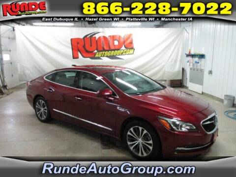 2017 Buick LaCrosse for sale at Runde Chevrolet in East Dubuque IL