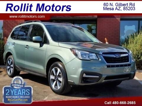 2018 Subaru Forester for sale at Rollit Motors in Mesa AZ