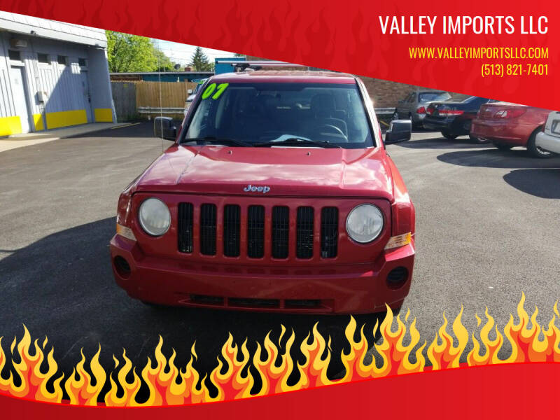 2007 Jeep Patriot for sale at VALLEY IMPORTS LLC in Cincinnati OH