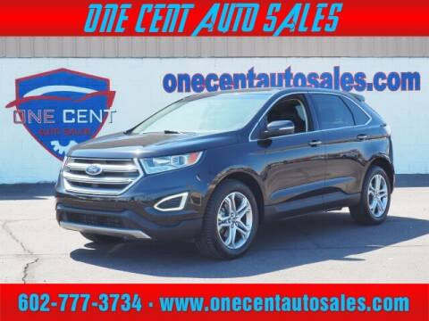2017 Ford Edge for sale at One Cent Auto Sales in Glendale AZ