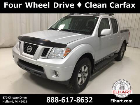 2012 Nissan Frontier for sale at Elhart Automotive Campus in Holland MI