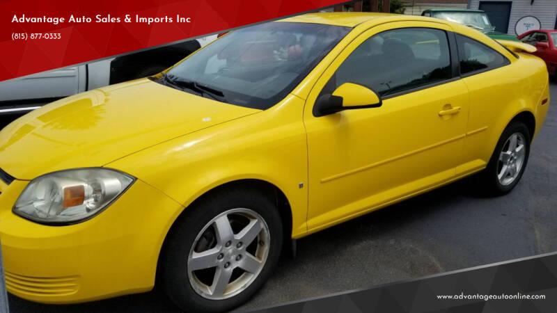2009 Chevrolet Cobalt for sale at Advantage Auto Sales & Imports Inc in Loves Park IL