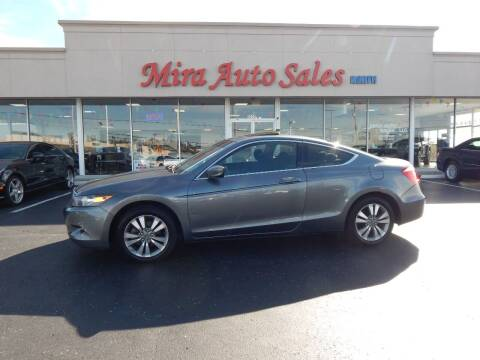 2010 Honda Accord for sale at Mira Auto Sales in Dayton OH