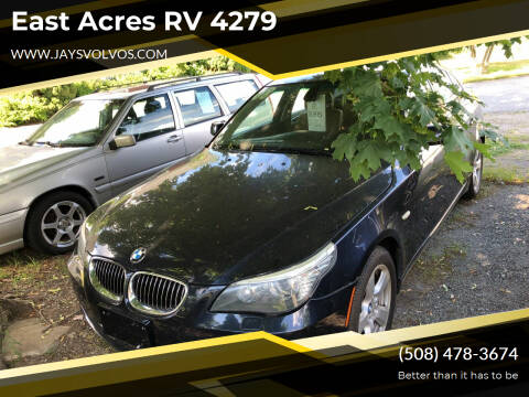 2008 BMW 5 Series for sale at East Acres RV 4279 in Mendon MA