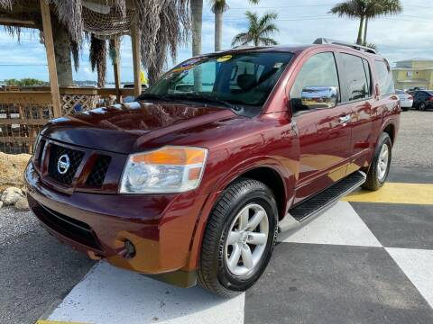 2012 Nissan Armada for sale at D&S Auto Sales, Inc in Melbourne FL