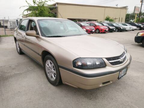 2005 Chevrolet Impala for sale at TEXAS MOTOR CARS in Houston TX