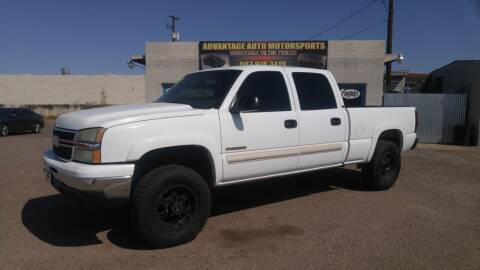 2007 Chevrolet Silverado 1500HD Classic for sale at Advantage Motorsports Plus in Phoenix AZ