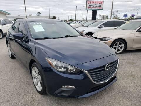 2015 Mazda MAZDA3 for sale at Jamrock Auto Sales of Panama City in Panama City FL