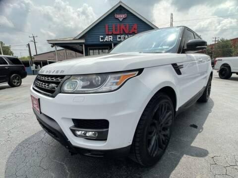 2014 Land Rover Range Rover Sport for sale at LUNA CAR CENTER in San Antonio TX