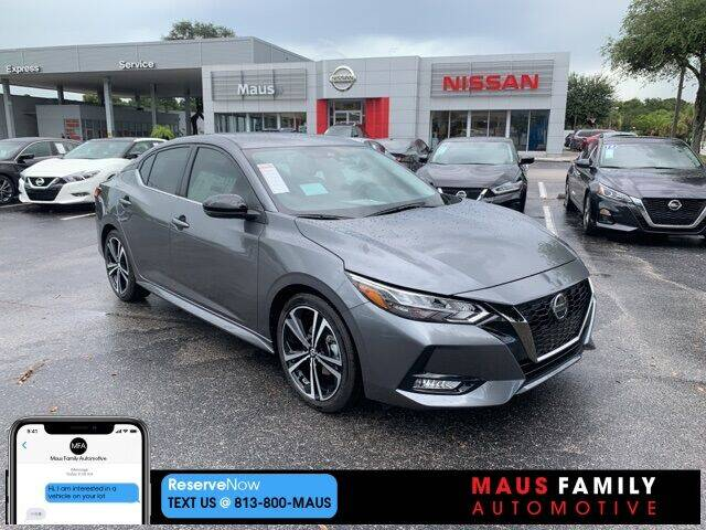2021 Nissan Sentra for sale in Tampa, FL