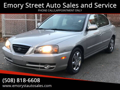 2006 Hyundai Elantra for sale at Emory Street Auto Sales and Service in Attleboro MA