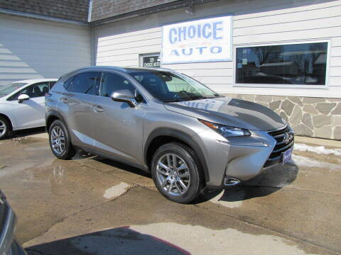 2016 Lexus NX 200t for sale at Choice Auto in Carroll IA