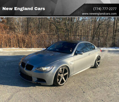 2008 BMW M3 for sale at New England Cars in Attleboro MA