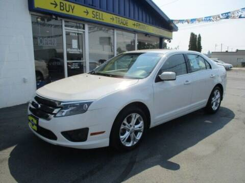 2012 Ford Fusion for sale at Affordable Auto Rental & Sales in Spokane Valley WA