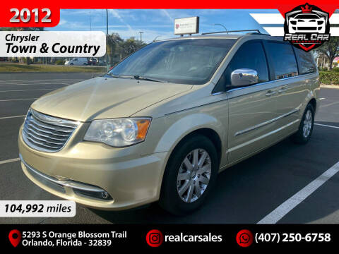 2012 Chrysler Town and Country for sale at Real Car Sales in Orlando FL