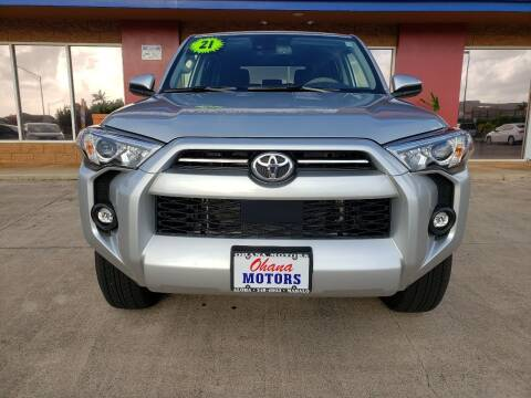 2021 Toyota 4Runner for sale at Ohana Motors - Lifted Vehicles in Lihue HI
