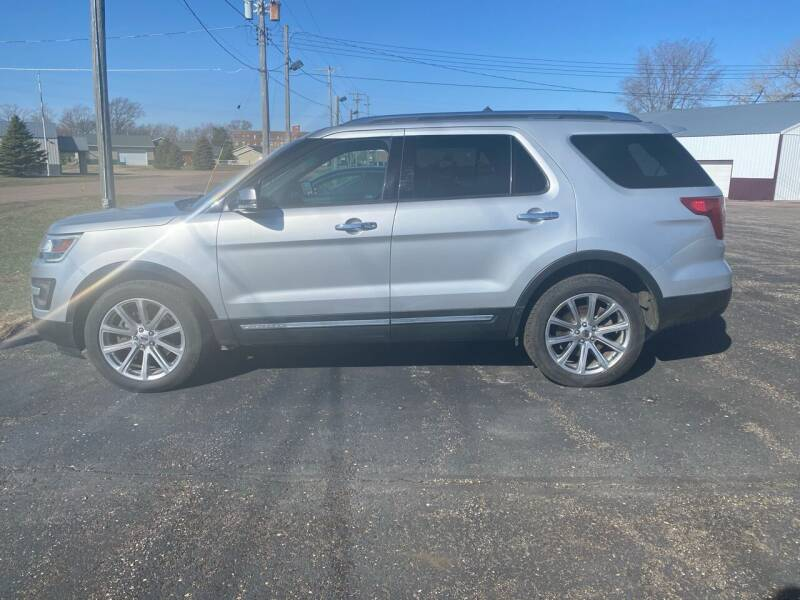 2016 Ford Explorer for sale at Diede's Used Cars in Canistota SD