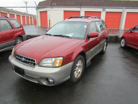 2003 Subaru Outback for sale at ARISTA CAR COMPANY LLC in Portland OR