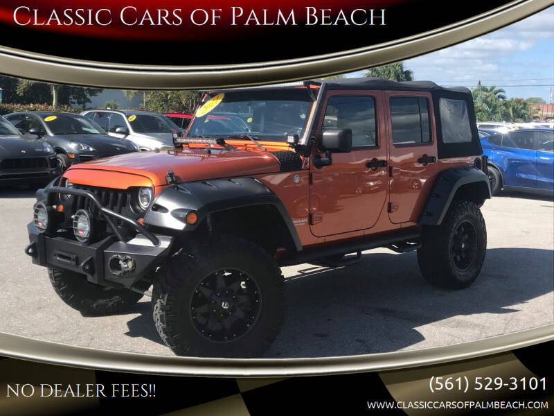 2011 Jeep Wrangler Unlimited for sale at Classic Cars of Palm Beach in Jupiter FL