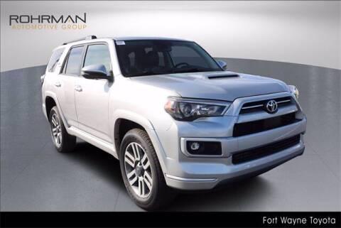 2022 Toyota 4Runner for sale at BOB ROHRMAN FORT WAYNE TOYOTA in Fort Wayne IN