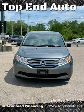 2011 Honda Odyssey for sale at Top End Auto in North Attleboro MA