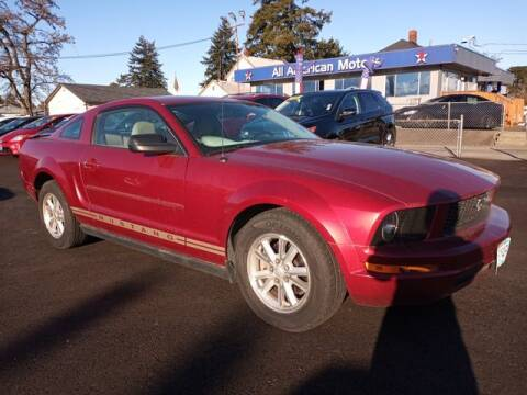 2007 Ford Mustang for sale at All American Motors in Tacoma WA