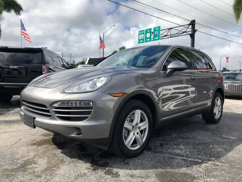 2012 Porsche Cayenne for sale at Gtr Motors in Fort Lauderdale FL