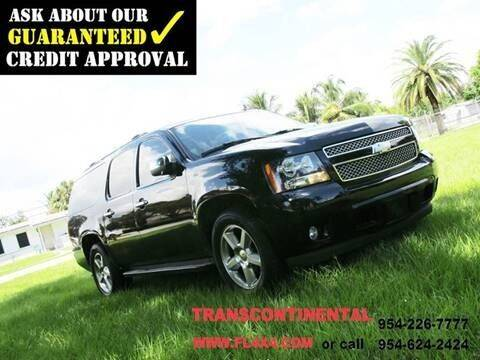 2007 Chevrolet Suburban for sale at Transcontinental Car in Fort Lauderdale FL