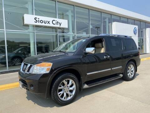 2014 Nissan Armada for sale at Jensen's Dealerships in Sioux City IA