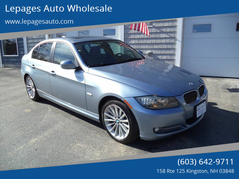 2010 BMW 3 Series for sale at Lepages Auto Wholesale in Kingston NH