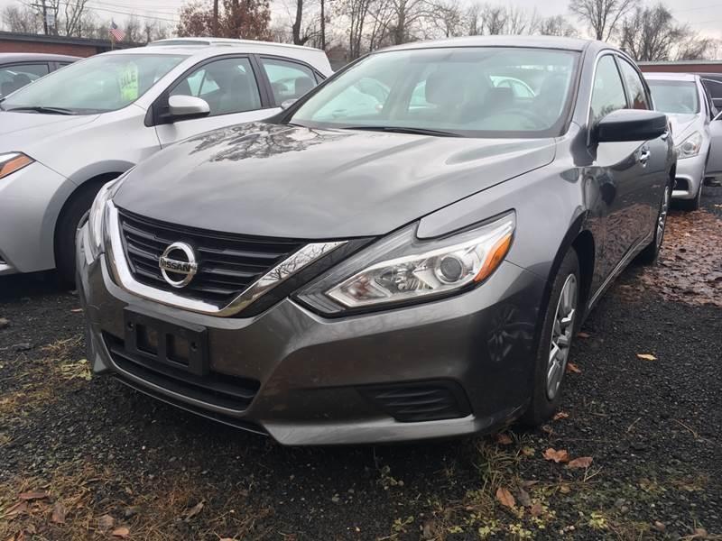 2016 Nissan Altima for sale at MELILLO MOTORS INC in North Haven CT