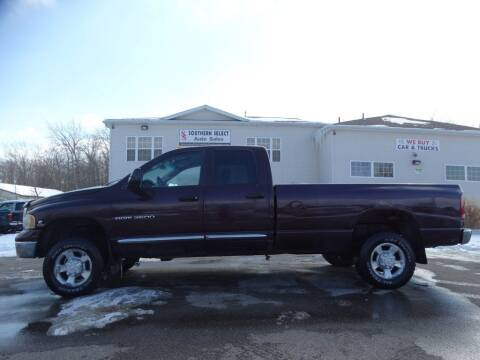 2004 Dodge Ram Pickup 2500 for sale at SOUTHERN SELECT AUTO SALES in Medina OH