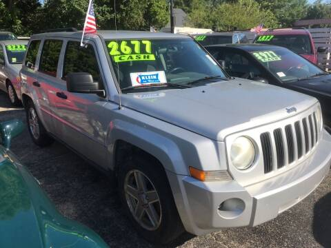 2007 Jeep Patriot for sale at Klein on Vine in Cincinnati OH