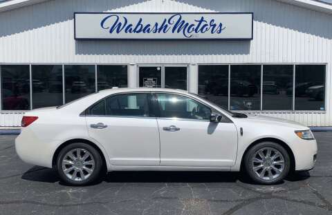 2012 Lincoln MKZ for sale at Wabash Motors in Terre Haute IN