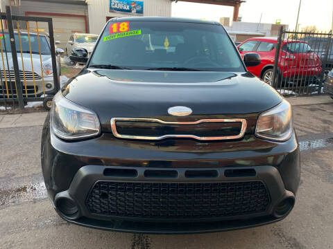 2018 Kia Soul for sale at Sanaa Auto Sales LLC in Denver CO