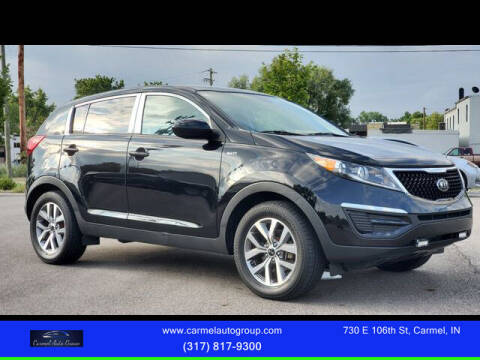 2016 Kia Sportage for sale at Carmel Auto Group in Indianapolis IN