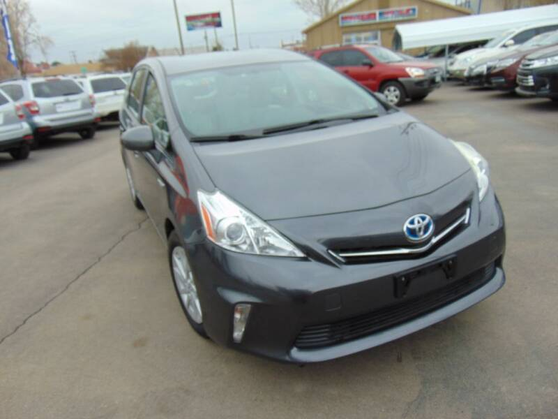 2014 Toyota Prius v for sale at Avalanche Auto Sales in Denver CO