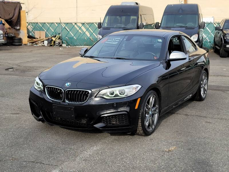 2015 BMW 2 Series for sale at AW Auto & Truck Wholesalers  Inc. in Hasbrouck Heights NJ