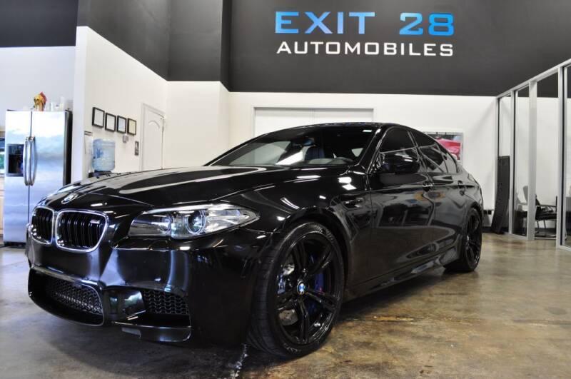 2014 BMW M5 for sale at Exit 28 Auto Center LLC in Cornelius NC