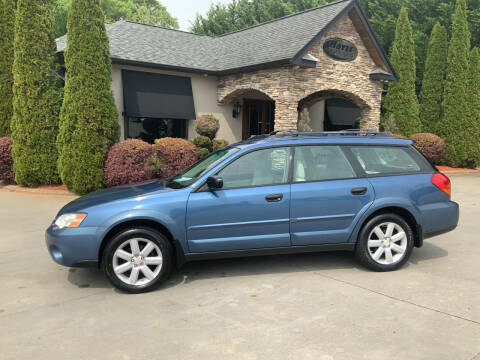 2007 Subaru Outback for sale at Hoyle Auto Sales in Taylorsville NC